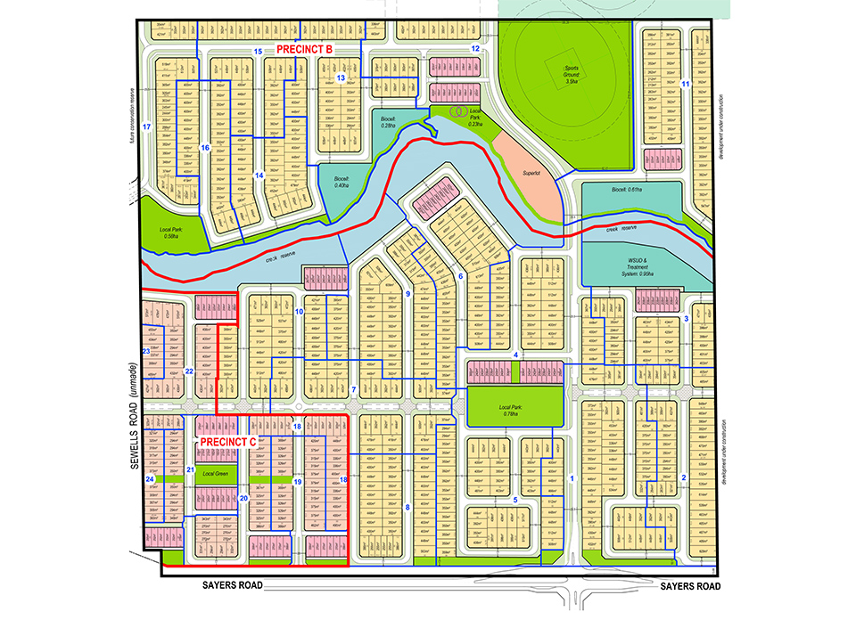 Grand Central Estate: Masterplan