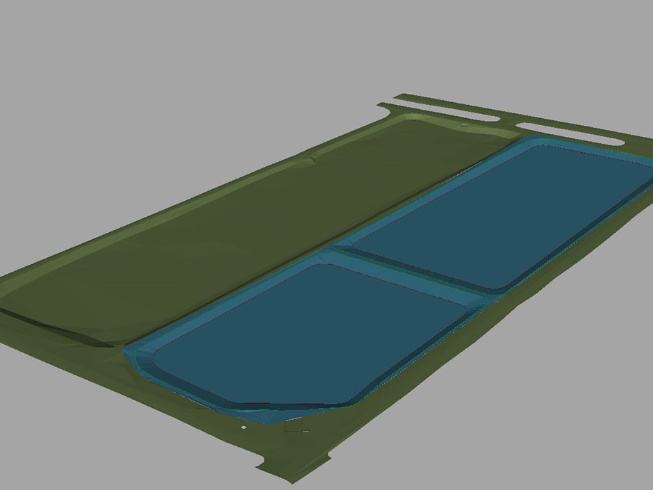 ETP_Sludge Drying pan_3D Plan