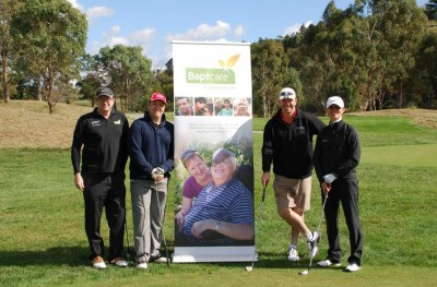 Taylors Sponsor hole at the annual Baptcare Charity Golf Day
