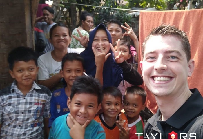 Taylors and Habitat for Humanity – An International Working Relationship