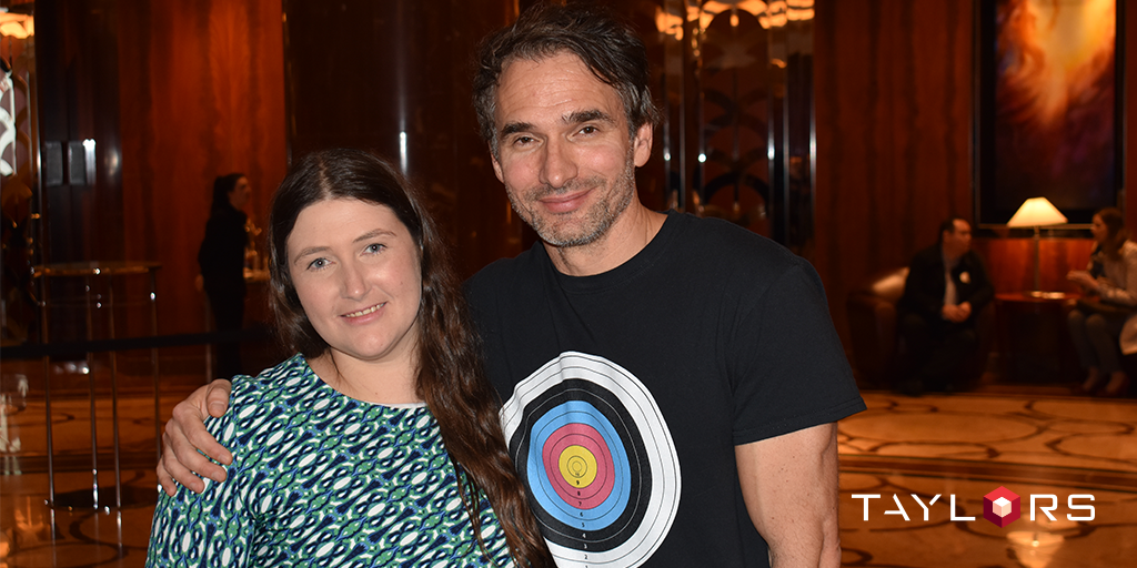 Taylors Marketing Coordinator, Nicole Pendlebury, had the opportunity to meet and greet Todd Sampson